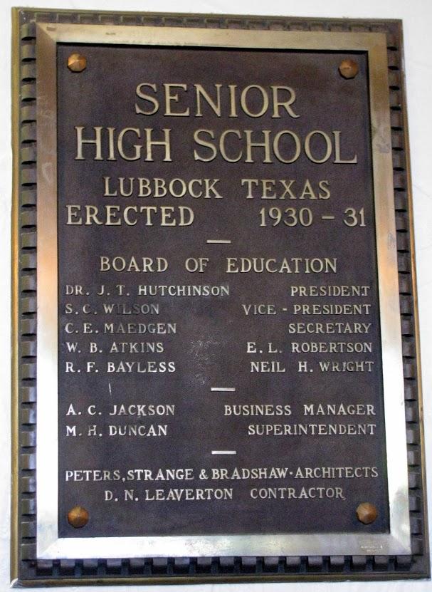 LHS Plaque.